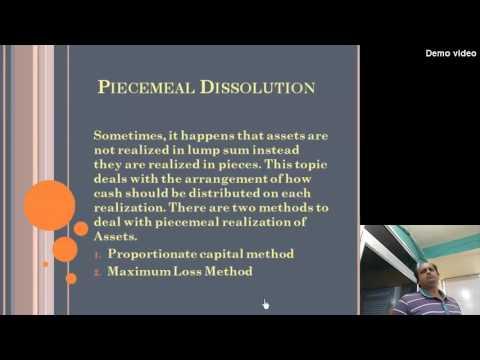 piecemeal dissolution (hindi)