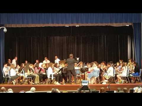 Whirlwinds District 22 Concert Band 2017