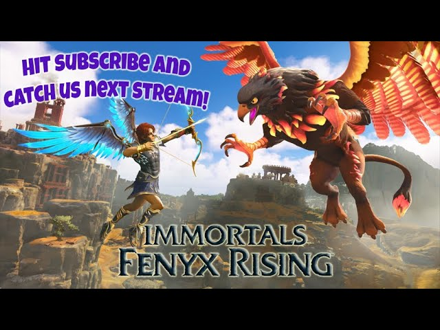 Immortals Fenyx Rising | Archives and Ares