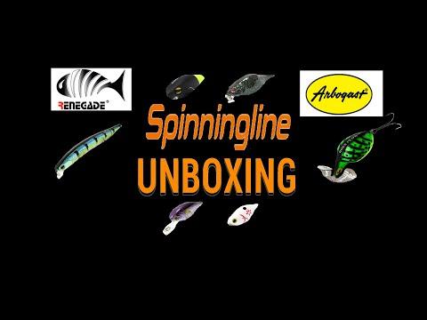 Unboxing новогодней посылки от интернет магазина Spinningline