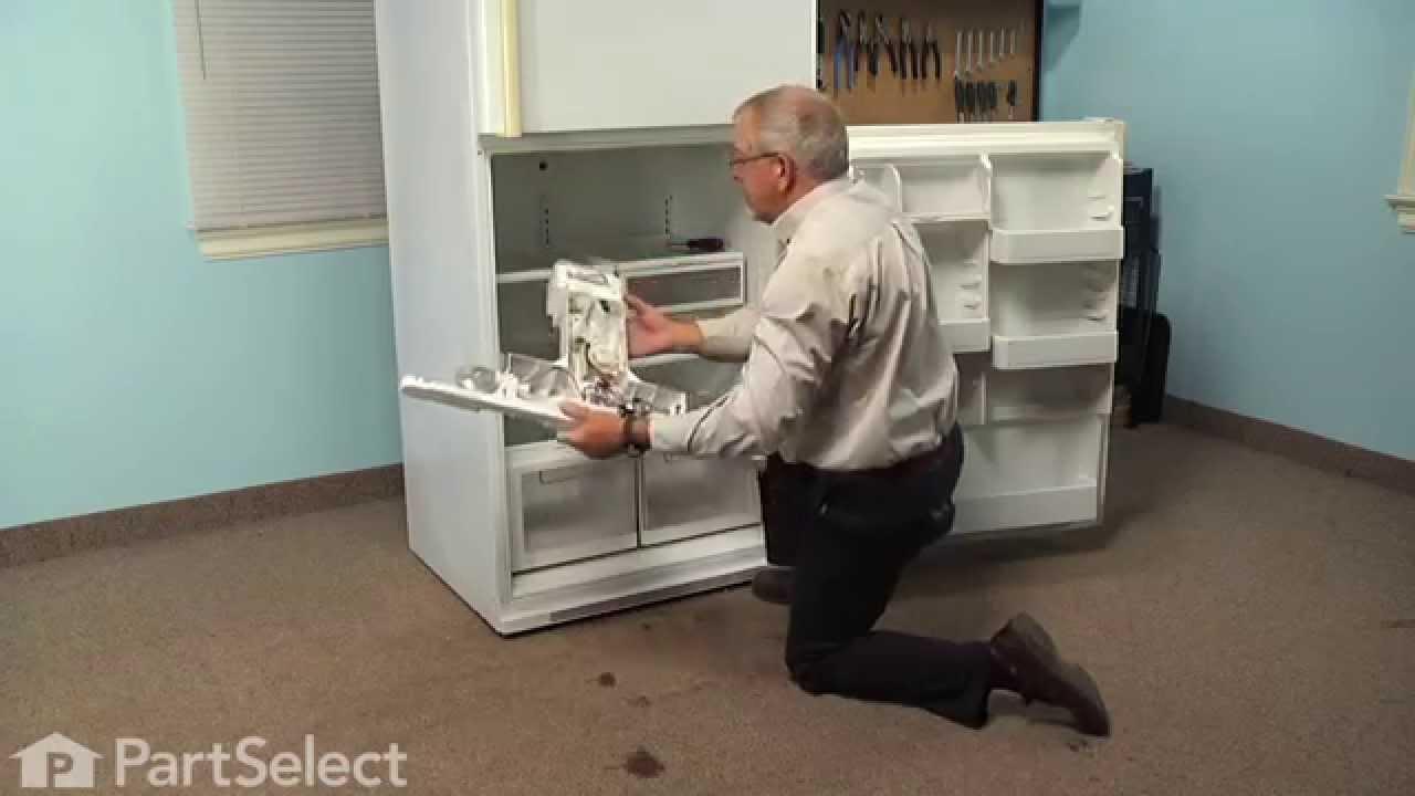 Defrost Heater Refrigerator Facias Timer Wiring Diagram Frigidaire Frs20wrh Repair Replacing The