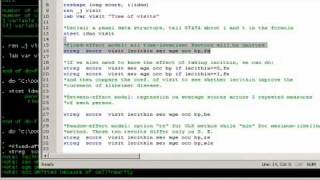 STATA Video #8 Fixed and Random Effect Models