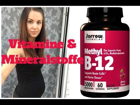 Vitamine & Mineralstoffe In Der Schwangerschaft - Vegan - B12, Folsäure, Jod Etc.│Fit Miri