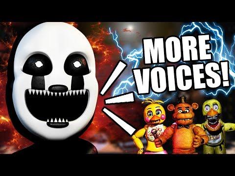 FREDDY FAZBEAR IS GETTING A VOICE! ||