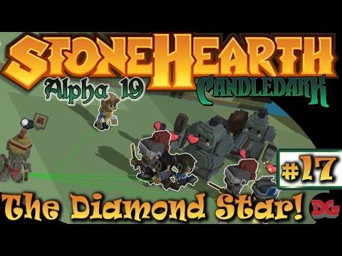 StoneHearth - Alpha 19(mod) ► Episode 17 ► Diamond Star Raiders! (1440p/60)