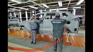 Завод Geely через год. Новый Atlas 1.8T и обновленный Emgrand X7