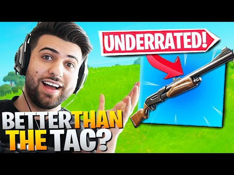 The Most UNDERRATED Weapon In Fortnite! (Better Than The Tac!) - Fortnite Battle Royale