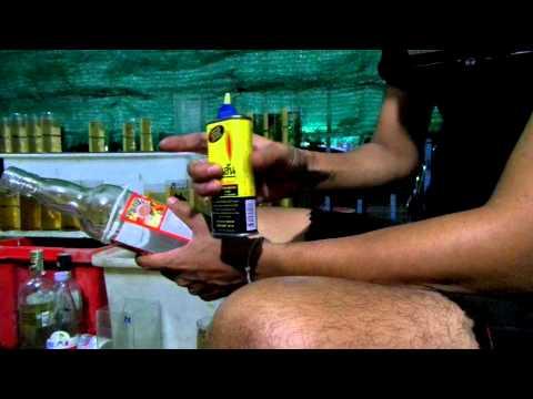 วิธีตัดขวดแก้วไว้ใช้เลี้ยงปลากัด BoBetta.Com
