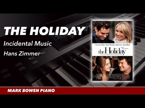 The Holiday Movie Theme Piano Incidentals 1