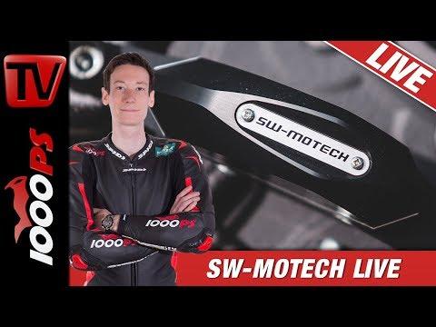 Motorrad Zubehör - Gepäcksysteme und schlaue Gadgets - SW-Motech LIVE