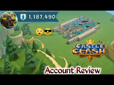 1.1 Million Might Account | 😲😲😲 | Castle Clash New Dawn | All Hero And Progress Review😲😲😲😲