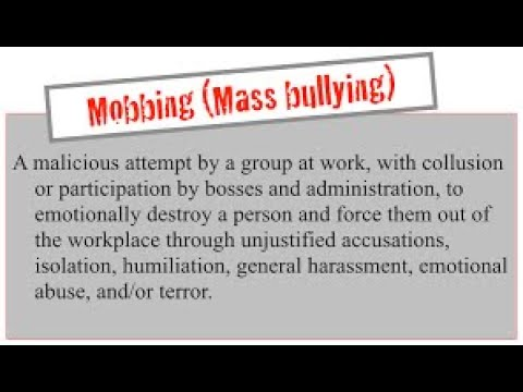 Surviving The Work Monsters - Help With Workplace Mobbing