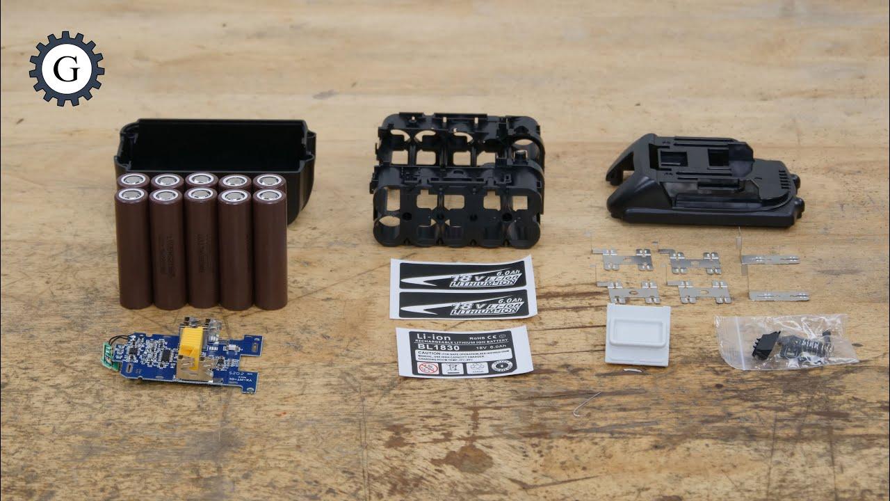 18V Makita Battery Case Assembly Guide   BL 1830