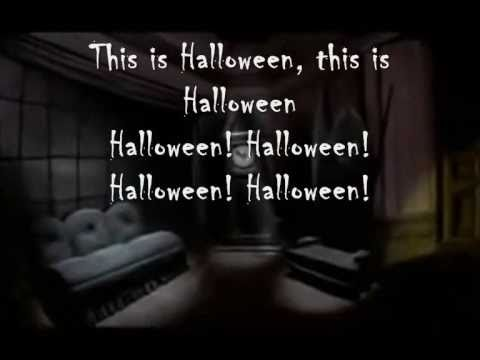 the nightmare before christmas this is halloween lyrics - The Nightmare Before Christmas Lyrics
