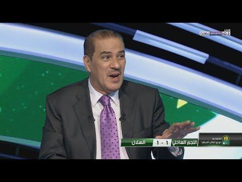 محلل بى ان هذا الحكم من أسوأ الحكام المصريين الذين شاهدتهم في حياتي خلال مباراة النجم والهلال السودانى