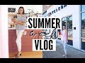 Summer week in my life! / Spin class & New coffee shops | emilyOandbows