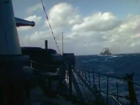 1941 USS ASTORIA CA-34 Color Film Footage