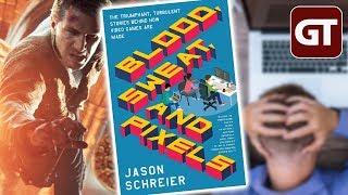 Thumbnail für Die Wahrheit über Spieleentwicklung - Buchtipp: »Blood, Sweat & Pixels« - GT-Talk #72
