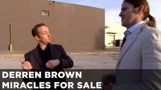 Derren Brown Tests His Fake Faith Healer | Miracles For Sale