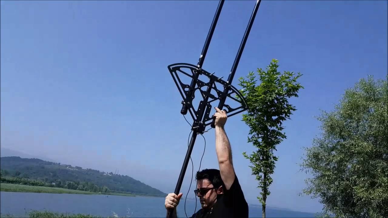 Vertical Delta Loop Antenna by Serhat Sertakan