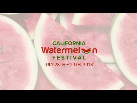 California Watermelon Festival 2018 - Sponsor Video