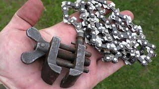Мало кто знает этот секрет цепи от бензопилы! сделай сам