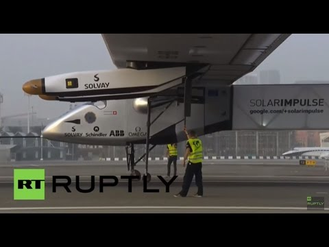 LIVE: Solar Impulse 2 takes off for Hawaii from Nagoya