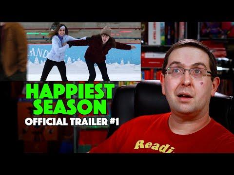 REACTION! Happiest Season Trailer #1 – Dan Levy Movie 2020