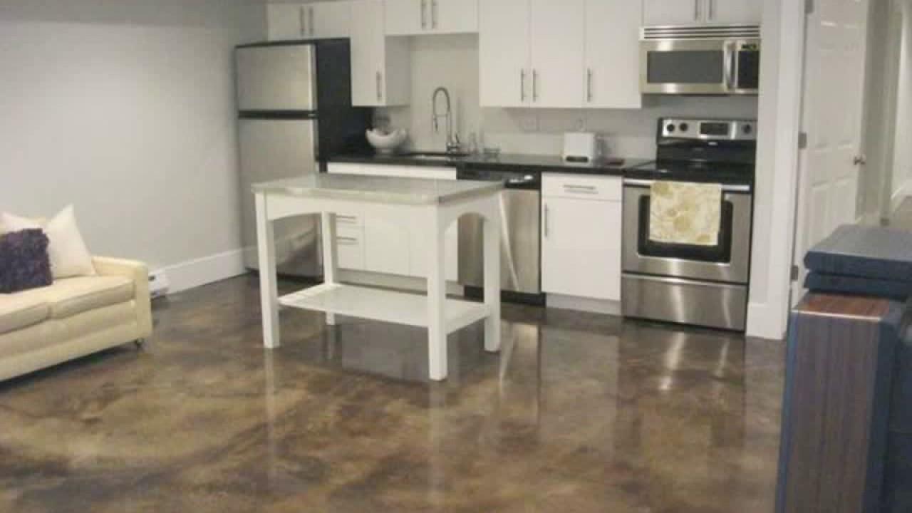 Basement kitchen ideas   YouTube