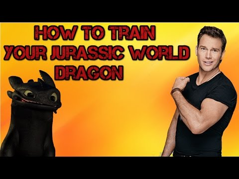 How To Train Your Jur Ic World Dragon Trailer Mashup