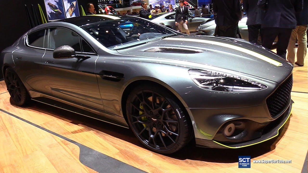 Aston Martin Rapide AMR Exterior Interior Walkaround Debut - Aston martin sedan