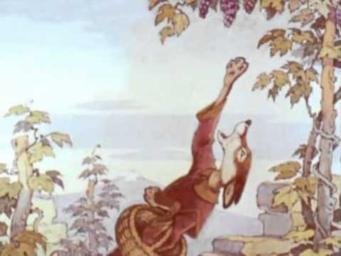 Крылов И.А. Лисица и виноград - YouTube