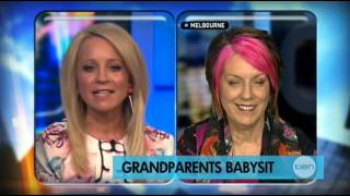 """""""Grandparents Babysit"""" Channel 10 The Project 22 October 2012"""