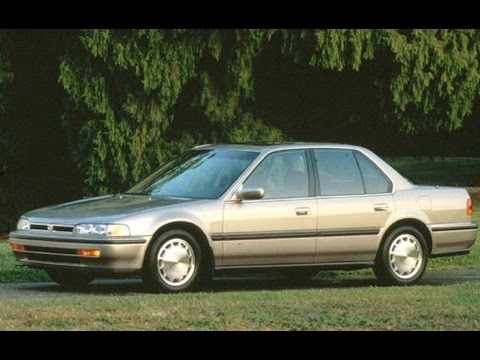 1993 Honda Accord Start Up and Review 2.2 L 4-Cylinder - YouTube