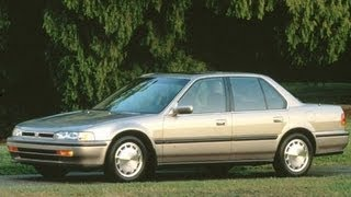 1993 Honda Accord Start Up and Review 2.2 L 4-Cylinder