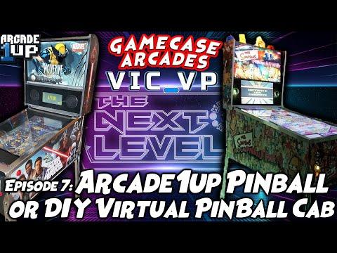 The Next Level - Ep. 7 (Arcade1Up Pinball or DIY Virtual Pinball w/ Vic-VP!) from Kongs-R-Us