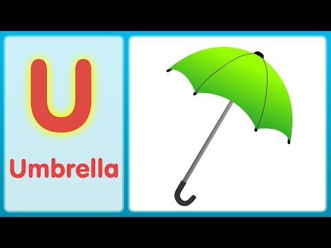 The U Song (Uppercase) | Alphabet Song | Super Simple ABCs