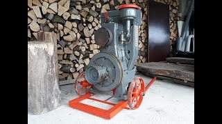 Restauration ancien moteur Bernard w13 (part 1)