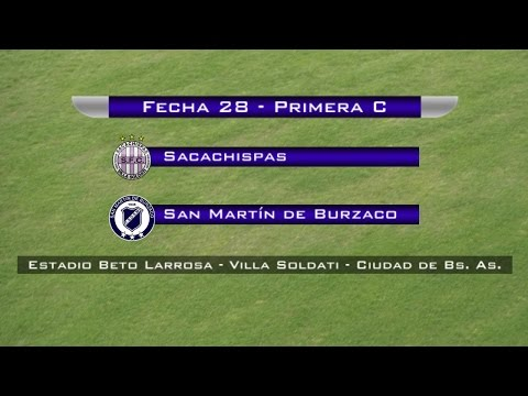 Fecha 28: San Martín de Burzaco vs Sacachispas  - EN VIVO