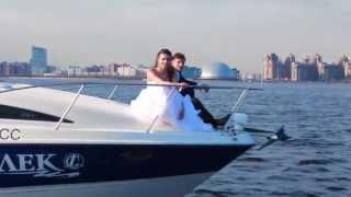 Не пропустите! Катер на свадьбе!(Аренда катеров для прогулок и на свадьбы в Санкт-Петербурге. http://limocars.ru., 2013-07-15T04:16:04.000Z)
