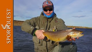 Trout Fishing Las Buitreras Argentina Week 3 Report 2019