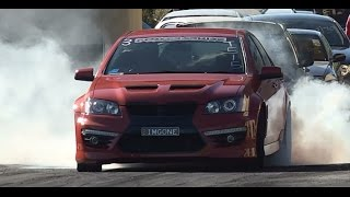 IMGONE VE V8 COMMODORE 10.72 @ 130 MPH SYDNEY DRAGWAY 26.7.2015