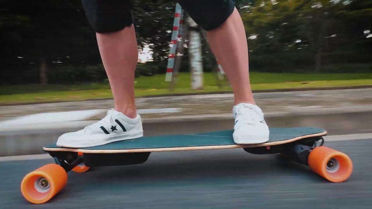 Wowgo 3X: the Latest Belt Drive Electric Skateboard in 2019 - YouTube