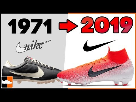 evolution-of-nike-football-boots!-soccer-cleat-history