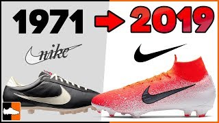 Evolution of Nike Football Boots! Soccer Cleat History