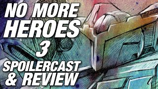 No More Heroes III Spoilercast | Review [GigaBoots Podcast Network]