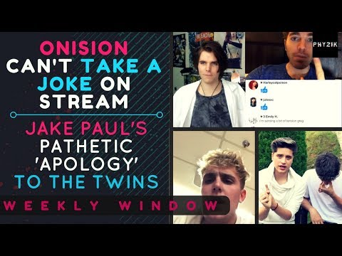 Thumbnail: SHANE DAWSON Makes ONISION LOSE IT On Stream | JAKE PAUL's Pathetic 'Apology' Video | Weekly Window