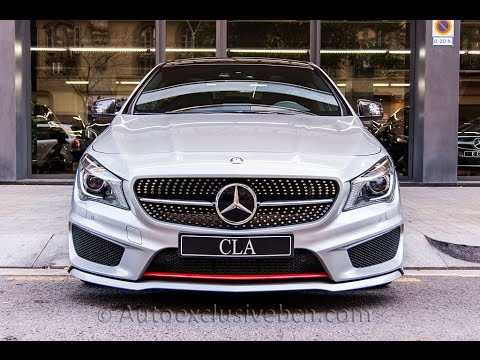 mercedes benz cla 250 sport amg carbon edition plata polar auto exclusive bcn youtube. Black Bedroom Furniture Sets. Home Design Ideas