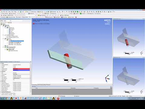 A simple model of a short beam test in ANSYS (Part 2)