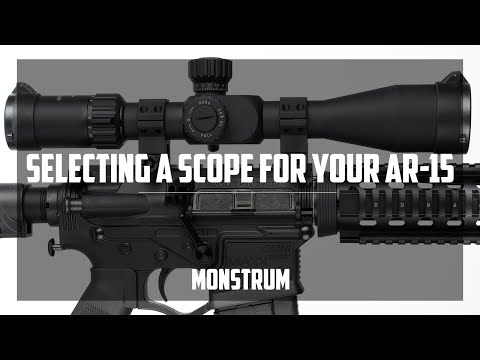 Selecting a Rifle Scope for your AR-15
